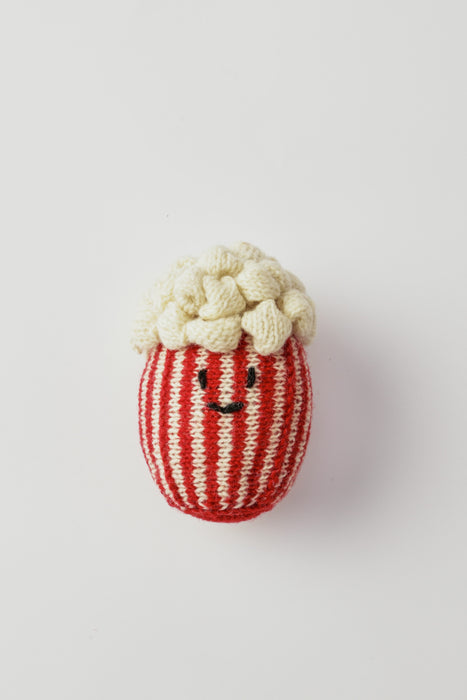WARE of the DOG hand knit popcorn dog toy