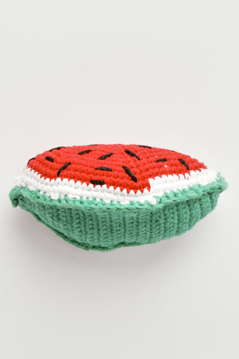 WARE of the DOG hand crochet watermelon dog toy