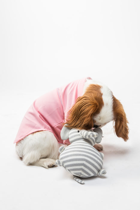FLOUFFY FEEL soft dog pyjamas in pink