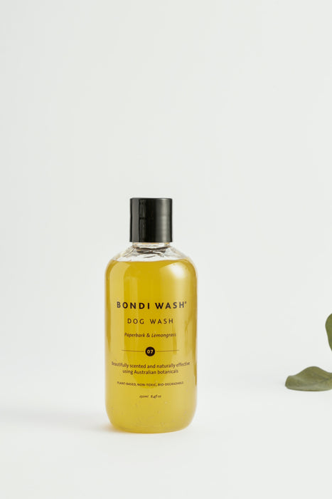 Bondi Wash Dog Shampoo Paperbark & Lemongrass