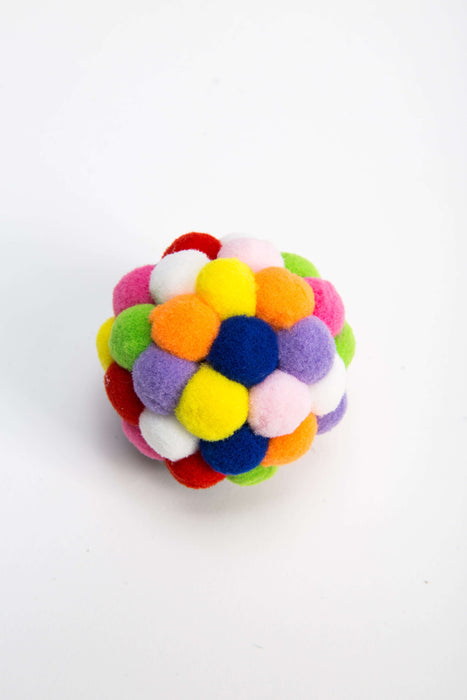 FLOUFFY FEEL bouncy ball dog toy