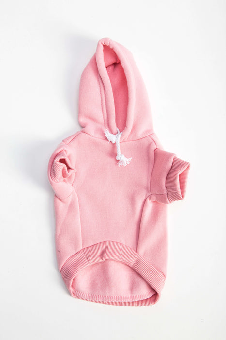 FLOUFFY FEEL oversized dog hoodie in pink