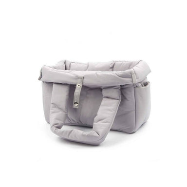 Padded Shoulder Dog Carrier Bag Gray