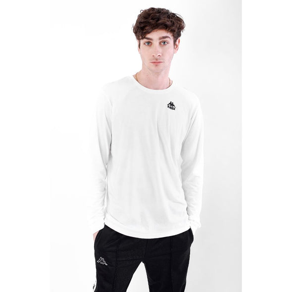 Polo Manga Larga Kappa AUTHENTIC ASTEN White - Kappa Perú Oficial
