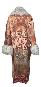 Patchwork Vintage Tapestry Coat