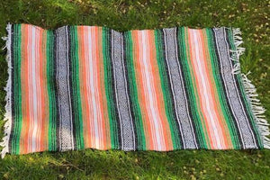 Aztec Striped Throw/Rug - Large Planetary People