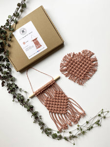 D.I.Y. Macrame Wall Hanging / Coaster Kit