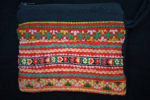 Vintage Embroidery pocket bag