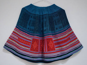 Traditional Miao pleats skirt