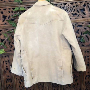 Men's Vintage Cream Jacket Planetary People
