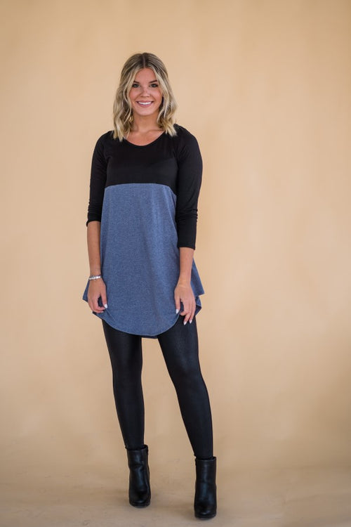 That's Darling Tunic Dress in Blue