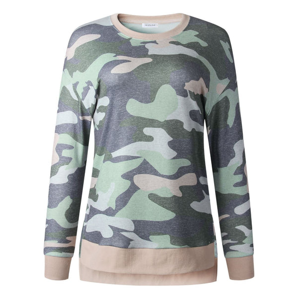 Taking Charge Camo Tunic: S-XL