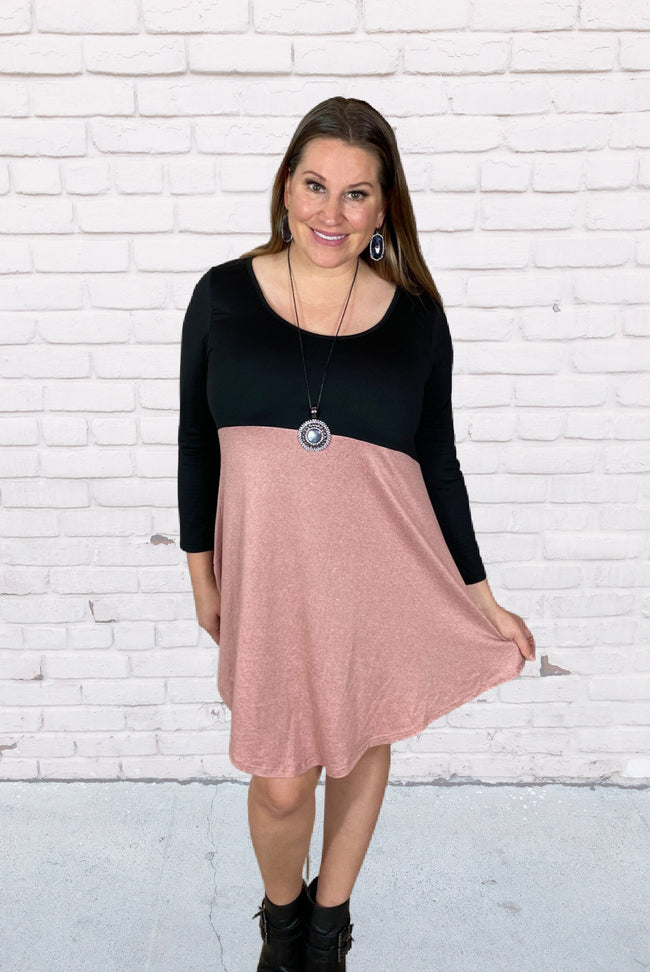 That's Darling Tunic in Mauve