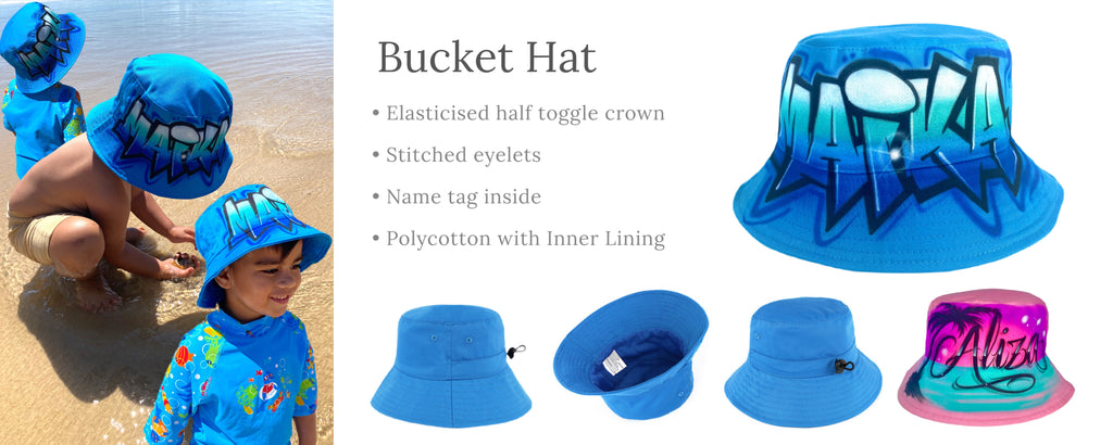 Custom Bucket Hat with any name or word