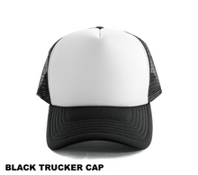 Load image into Gallery viewer, Custom Trucker Cap with Name