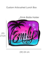 Load image into Gallery viewer, Paradise Script Style Kids Backpack and Lunchbox Combo (Combo3)