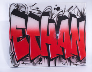 Graff Bomb Style Canvas (ETHAN)