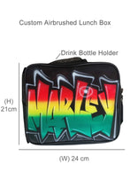 Load image into Gallery viewer, Rasta Style - Custom Lunchbox (LB6)