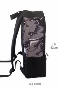 Skull Style Kids Backpack and Cap Combo (Combo11)
