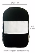 Load image into Gallery viewer, Full Colour Texture Kids Backpack and Cap Combo (Combo10)