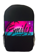 Load image into Gallery viewer, Paradise Script Style Kids Backpack and Cap Combo (Combo3)