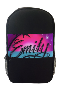 Paradise Script Style Kids Backpack and Lunchbox Combo (Combo3)