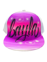 Load image into Gallery viewer, Love Script Snapback (8)