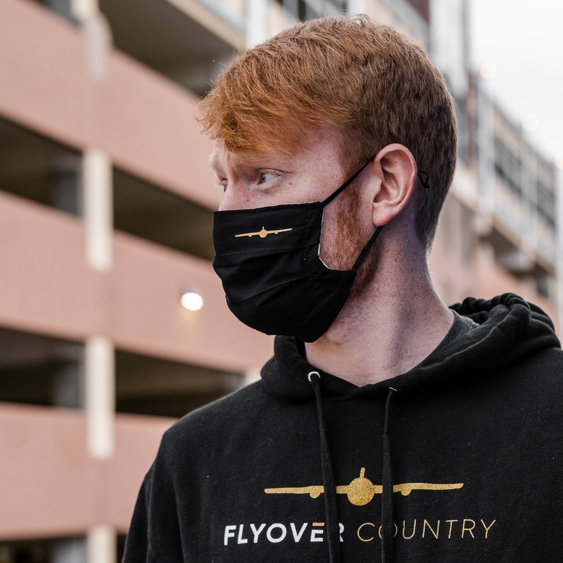 Flyover Mask - Washable and Adjustable
