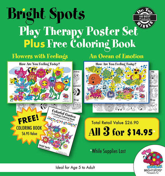 PROMO Poster Set Plus Free Coloring Book