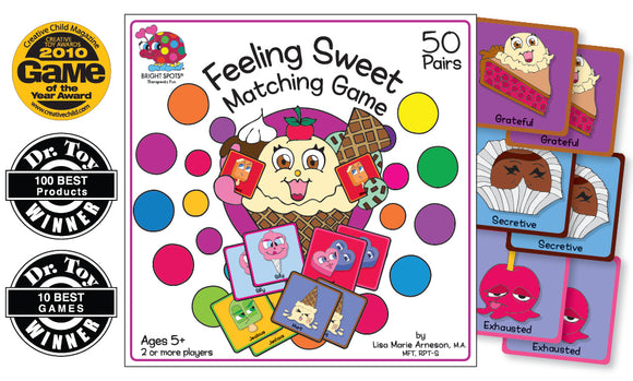 Feelings Sweet Matching Game