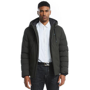 Dark Green 2 Heating Zones Jacket With Battery