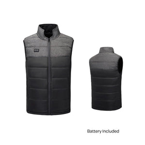 Double Controller 4 Heating Zones Vest With Battery