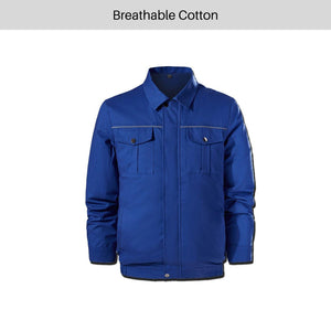 Air Cooling Jacket for Summer Outdoors Air-Conditioned Clothes With Battery