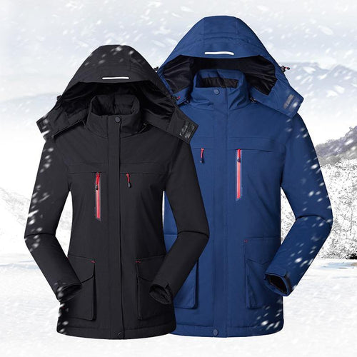 3 Heating Zones Hardshell Jacket with Battery
