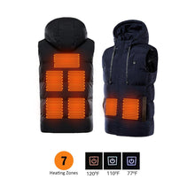 Load image into Gallery viewer, 7 Heating Zones Vest With Battery