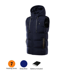 7 Heating Zones Vest With Battery