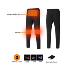 Load image into Gallery viewer, Black 3 Heating Zones Women Pants