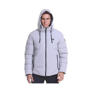Light Gray 2 Heating Zones Jacket