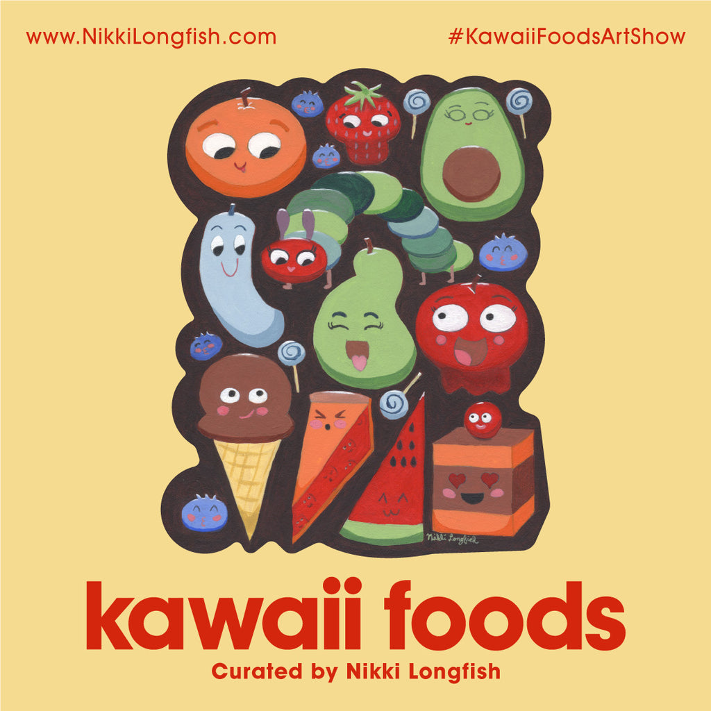 Kawaii Foods Leanna Lins Wonderland