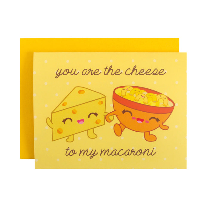Mac & Cheese Card by Bored Inc. from Leanna Lin's Wonderland
