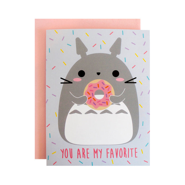Totoro Favorite Card by Bored Inc. from Leanna Lin's Wonderland