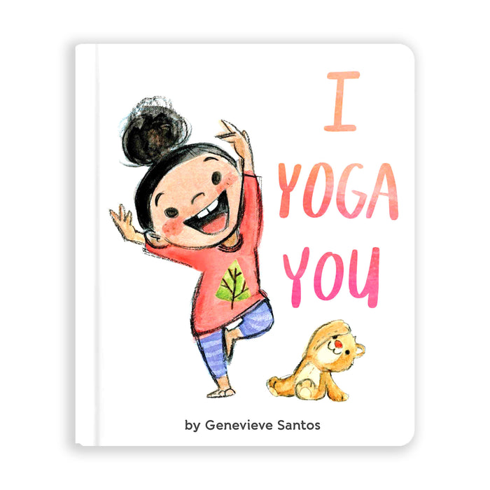 I Yoga You by Genevieve Santos from Leanna Lin's Wonderland