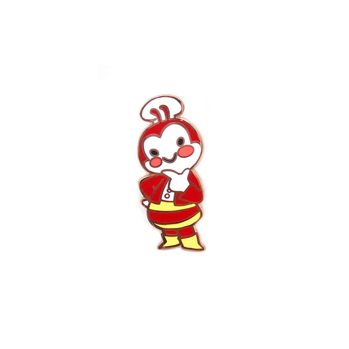 Jollibee Enamel Pin by Genevieve Santos from Leanna Lin's Wonderland