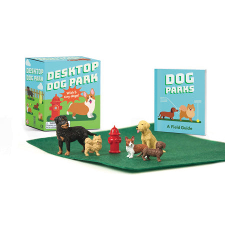 Desktop Dog Park Miniatures