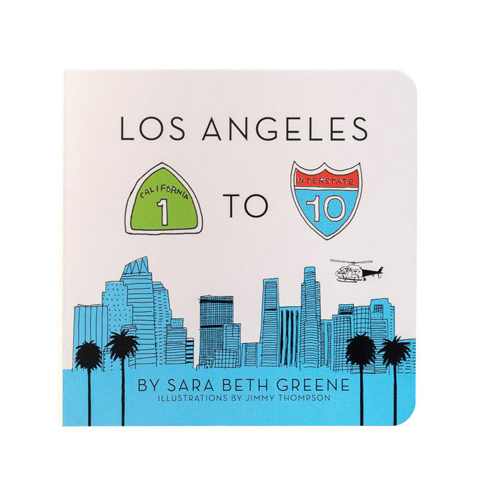 Los Angeles 1 to 10 by Little Bigfoot from Leanna Lin's Wonderland