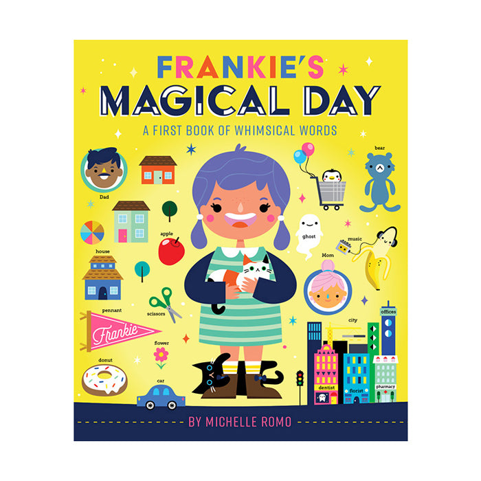 Frankie's Magical Day: A First Book of Whimsical Words by Abrams Books from Leanna Lin's Wonderland