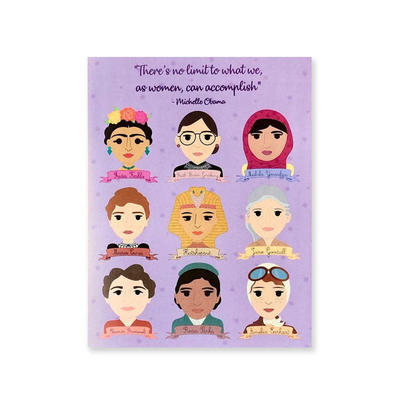 Women in History Card by Bored Inc. from Leanna Lin's Wonderland