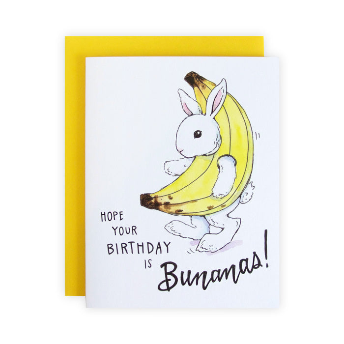 Bunanas Birthday Card
