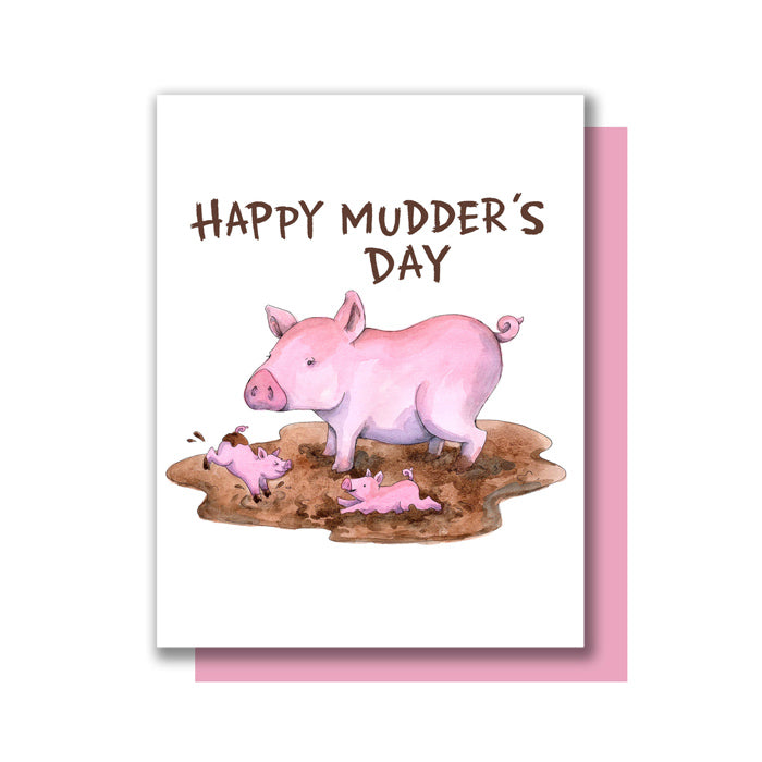 Happy Mudder's Day Card by Paper Wilderness from Leanna Lin's Wonderland