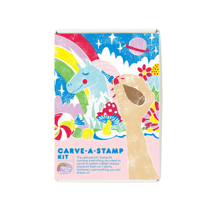Carve-A-Stamp Kit by Yellow Owl Workshop from Leanna Lin's Wonderland